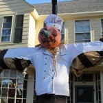 Falmouth Village features Village of Scarecrows